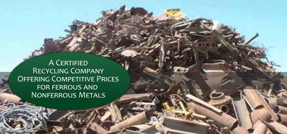 Pile of Recyclable Metal